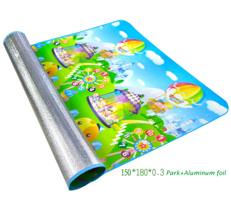 180cm Foldable Kids Play Mat Children Carpet Baby Climb Blanket Indoor Outdoor Axtivity Picnic Camping Px25 In Mats From Toys