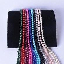 Best 150cm Long lady Pearl Necklace 3 Leyer Cheap