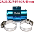 Free Shipping JDM Blue 1/8NPT Defi Gauge Water Temp Joint Pipe With Clamps / Water Temp Gauge Sensor Adapter