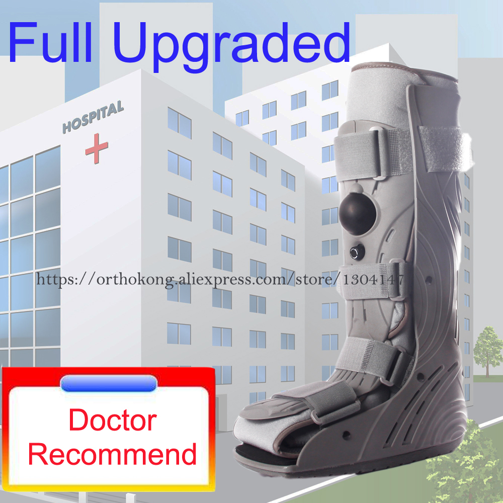 Aircast Walker Brace Extra Pneumatic Proshell Walking Boot Rupture of Achilles Tendon Rehabilitation Shoes Ankle Foot Fracture