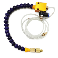 Mist Coolant Lubrication Spray System Unit Coolant Misting For Metal Cutting Cooling Milling Engraving Machine CNC