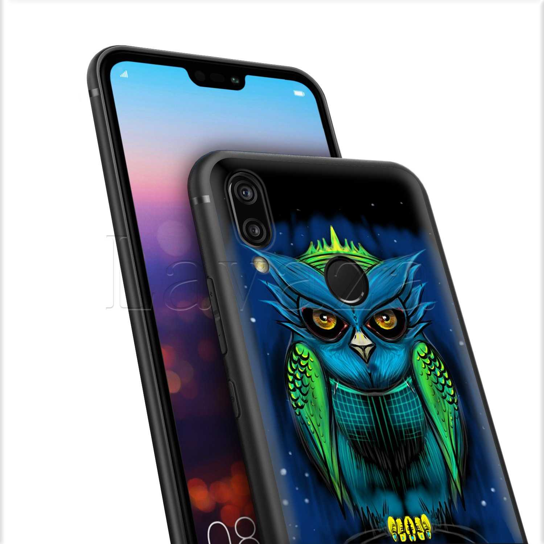 Lavaza Cute Owl Hearts Lover Christmas Silicone Case for Huawei P8 P9 P10 P20 Y6 Y7 Y9 Lite Pro P Smart Nova 2i 3i Mini