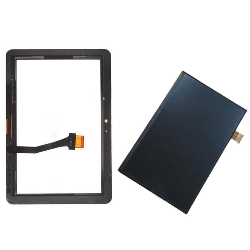 White For Samsung Galaxy Tab 10.1 N8000 N8010 Touch Screen Digitizer Sensor Glass + LCD Display Screen Panel Monitor for samsung galaxy note 10 1 n8000 n8010 new lcd display panel screen monitor repair replacement with tracking number