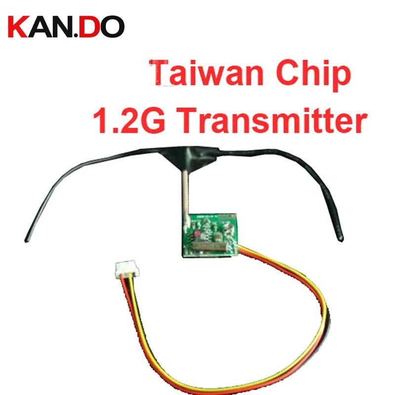 ᗑ5 unids/lote viruta de Taiwán 1.2G transmisor inalámbrico ...