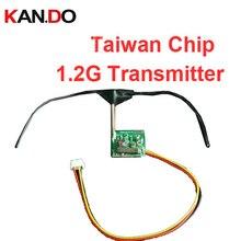 5 pçs/lote Taiwan Chip 1.2G transmissor CCTV segurança do molde 1.2G transmissor sem fio para transmissor 1.2G FPV zangão transmissor