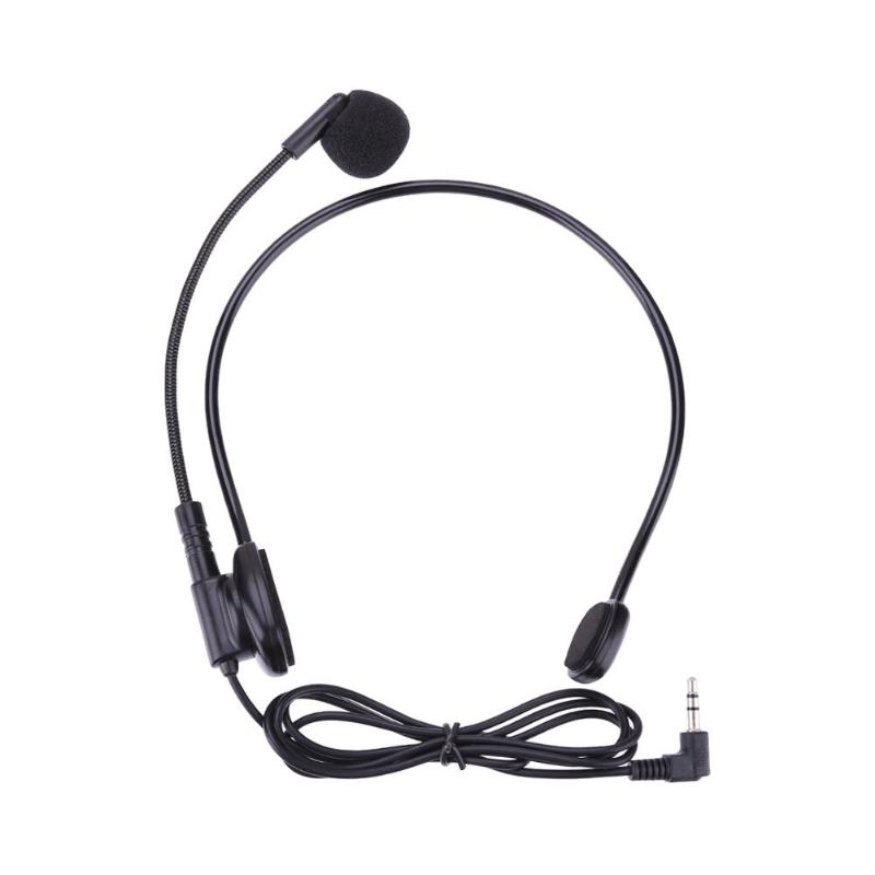 1 Mt Kabel Wired Mikrofon Kabel Kopf-montiert Headset Mikrofon Flexible Wired Boom Amplifie Kondensator Mikrofone StraßEnpreis
