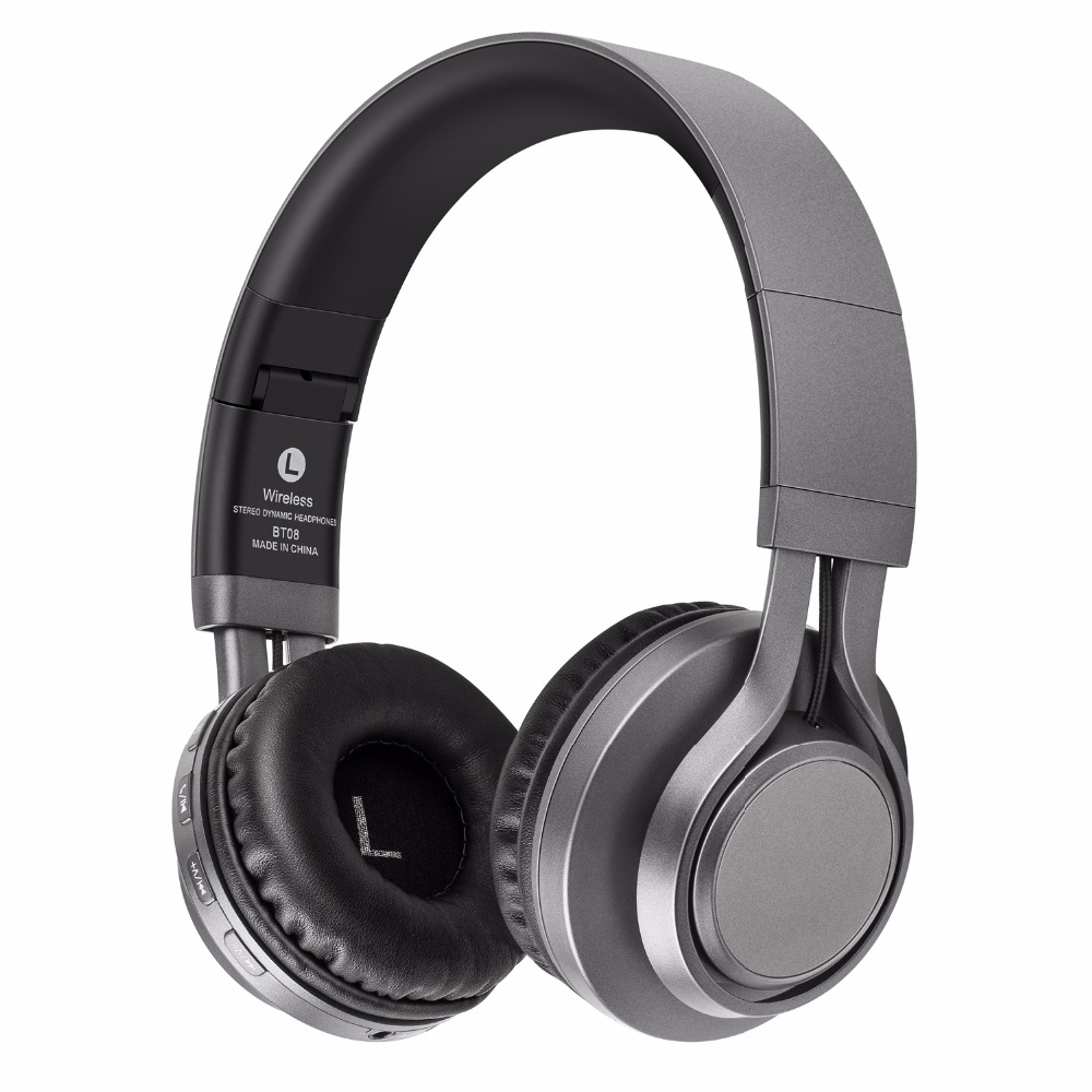 Sound Intone BT-08 Bluetooth Headphone With HD Mic. TF Card MP3 FM Radio Wireless Stereo Bass Headset For Xiaomi Phones Android sc208 wireless speaker bluetooth 4 0 caixa de som stereo subwoofer speakers tf usb fm radio built in mic dual bass sound box