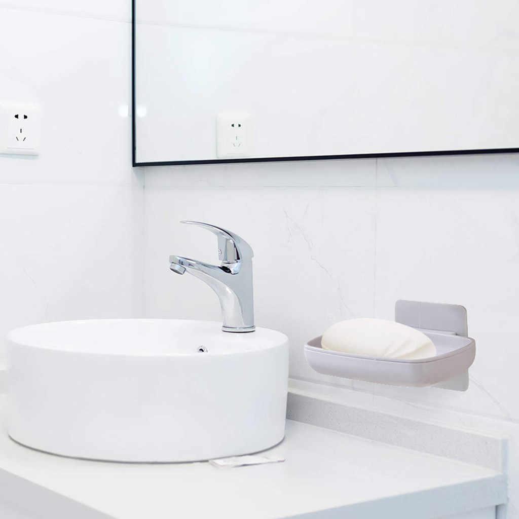 Mydelniczki mydelniczka uchwyt na mydło płuczka z myjką w łazienka Kitchen Sink wielofunkcyjny ze stali nierdzewnej i wodoodporny łatwa instalacja