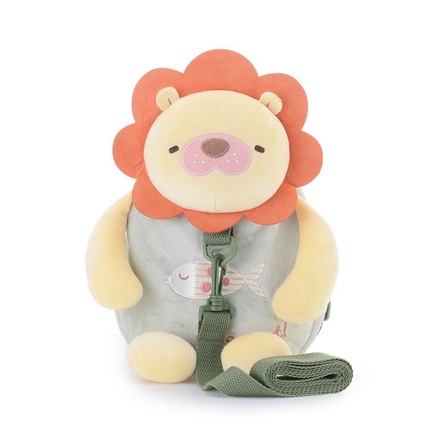 Metoo simpatico cartone animato leone bambino harness guinzagli di