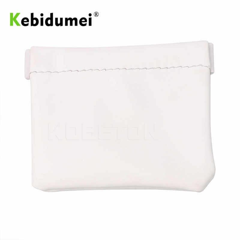 Kebidumei Portable Earphone Bag Senfer PU Leather Earphone Case PU Leather Carry Case Pouch Bag For Headphones Earphones