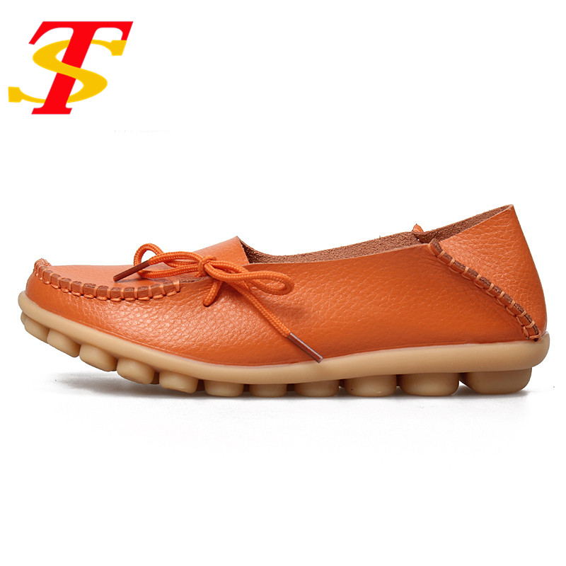 TS Summer New PU Leather Women Flats Moccasins Loafers Slip Driving Women Casual Shoes Leisure Concise Flat Shoes In 16 Colors flat shoes women pu leather women s loafers 2016 spring summer new ladies shoes flats womens mocassin plus size jan6