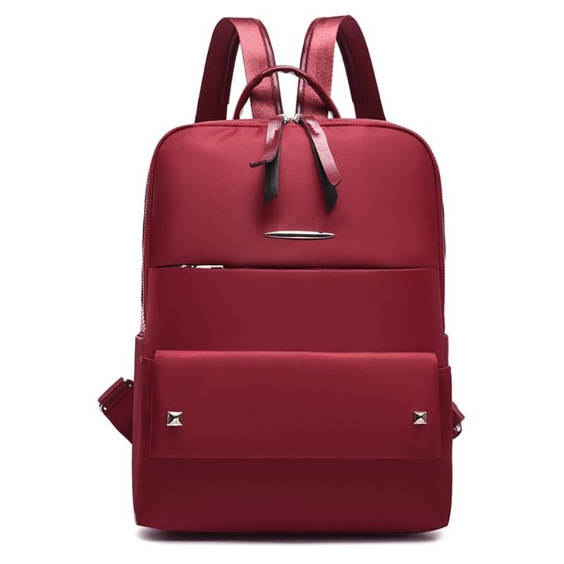 Unisex Nylon Backpacks Large Capacity School Bag For Girls Teenagers Female Laptop Backpack Travel Waterproof Bags