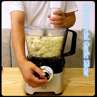 220V Commercial Electric Garlic Slicer Machine Automatic Chilli Pepper Garlic Grinder Slicer Machine EU/AU/UK/US For Home Shop
