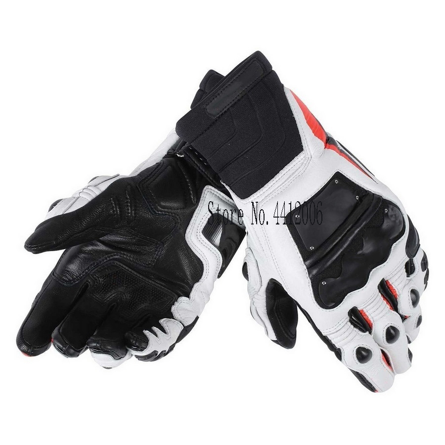 2018 New 3 Colors 100 Genuine Leather Motorcycle Gloves M1 Racing Driving Motorbike Short Gloves motos in Gloves from Automobiles Motorcycles
