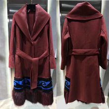 Mode mantel female high street wollmantel casaco feminino frauen mantel abrigos mujer inviemo 2018 doudoune femme wintermantel(China)
