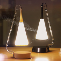 KARRONG LED Lamp Touch Sensor Music Player Desk Lamp DC Charging Table Lighting Student Book Light Bluetooth Speaker Night Light