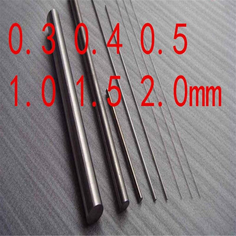 Фото Dia0.3x150mm Tungsten needle Tungsten rods W Bar stick tungsten electrode