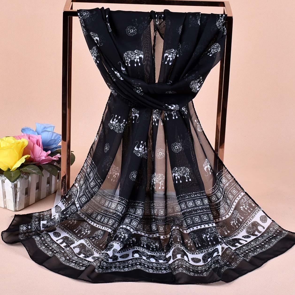 Scarf   chiffon shawl women   scarves     scarf   designer brand luxury headscarf swraps printing hijab ethnic kerchief bandana sjaal wape