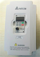Delta Inverter VFD drive VFD007M11A Z 1Phase 110V 0.75KW 1HP 0.1~400Hz Milling &Woodworking machine
