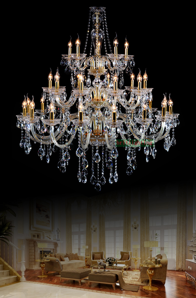 Fashionable luxury chandeliers lighting maria theresa crystal fashionable luxury chandeliers lighting maria theresa crystal chandeliers classic candle holder glass crystals for chandeliers in chandeliers from lights arubaitofo Choice Image