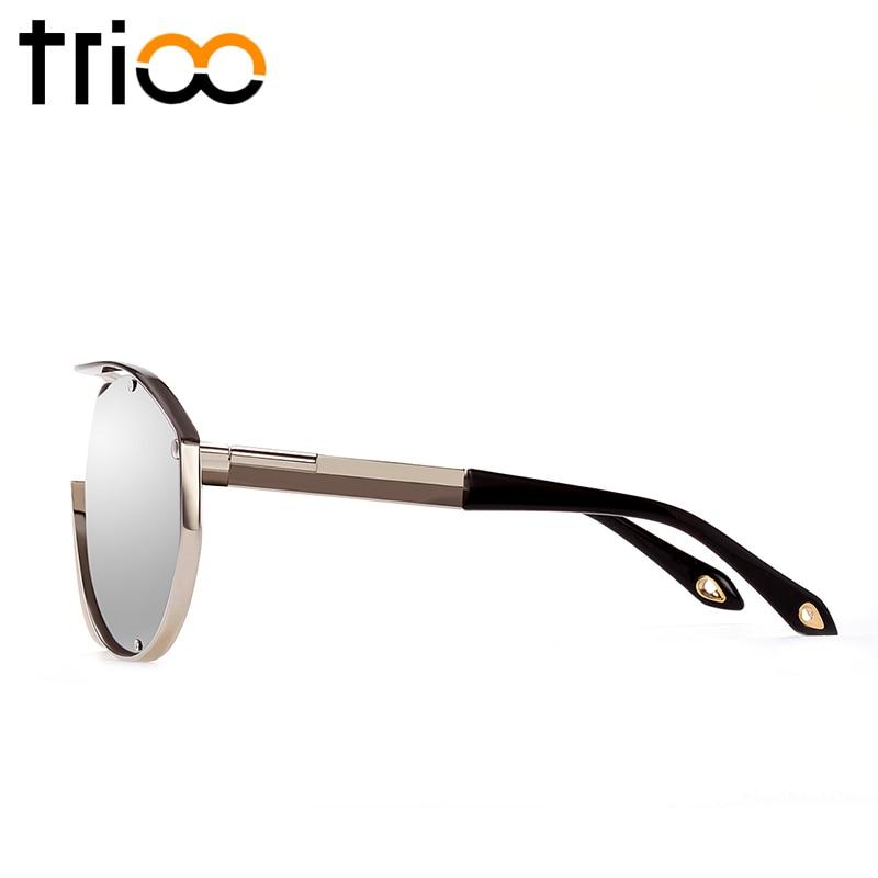 TRIOO Konzeption Design Herren Sonnenbrille Übergroßen Großen Rahmen ...