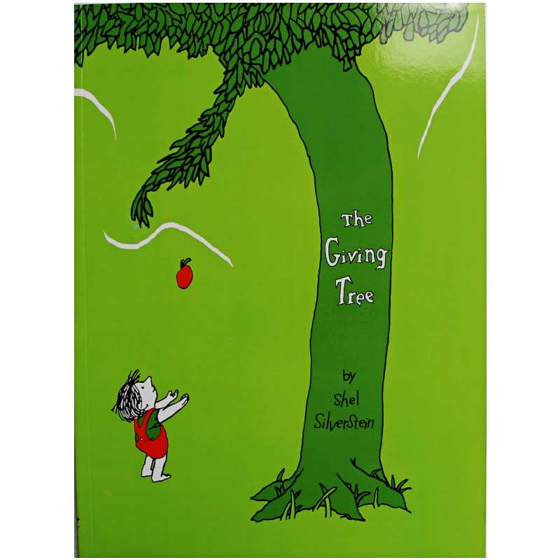 The Giving Tree By Shel Silverstein Educational English Picture Book Learning Card Story Book For Baby Kids Children Gifts