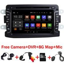 7 zoll Android 7.1.1 Auto DVD-Player Für Dacia Duster Renault Captur Lada Xray 2 Logan 2 RAM 3G WIFI GPS Navigation Radio