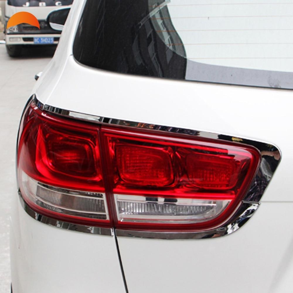 Car Accessories For Kia Sorento 2016 2017 Abs Chrome Rear