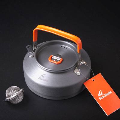 Hot Sale 0.8L Coffee Pot Tea Pot Outdoor Camping Aluminium Kettle Fire Maple FMC-T3 308g
