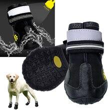 Reflective Dog Shoes Socks Winter Dog Boots Footwear Rain We