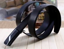 Smooth Buckle Genuine Leather Belt For Women