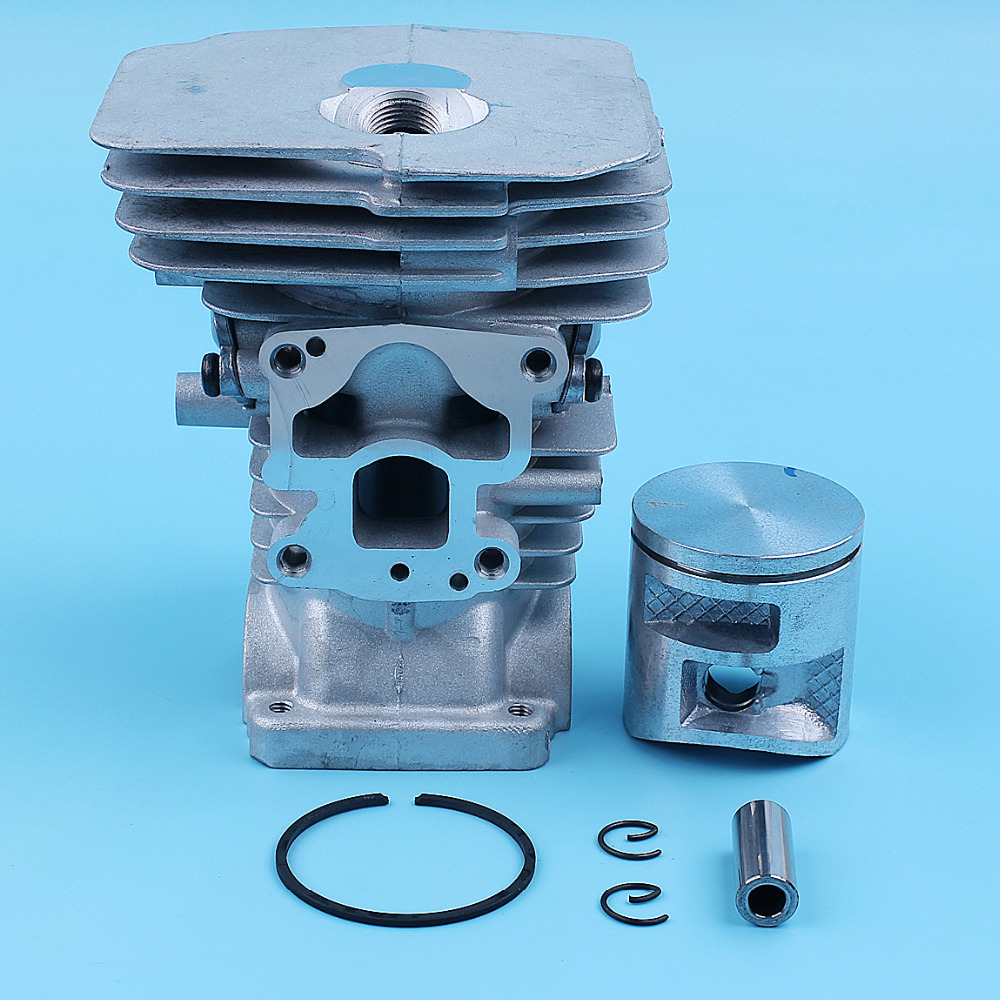 41mm Nikasil Cylinder Piston Top End Kit For <font><b>Husqvarna</b></font> 135 <font><b>140</b></font> 135E 140E Chainsaw Ring Pin Husky Replacement Spare Parts image