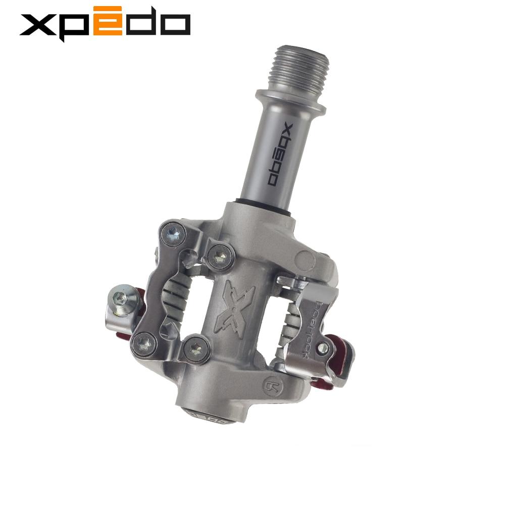 Wellgo Xpedo XMF07AC VTT vélo roulements de pédale ultra-léger 289g VTT vtt pédales XPD auto-verrouillage clipless bicicleta clip