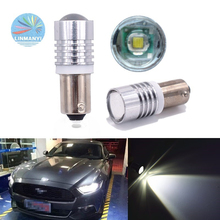 цена на 2PCS BA9S Car Led T4W W5W 1LED BA9S 5W Side Turn Signals Reverse Lights Marker Lamps Instrument lights door lights 12V White