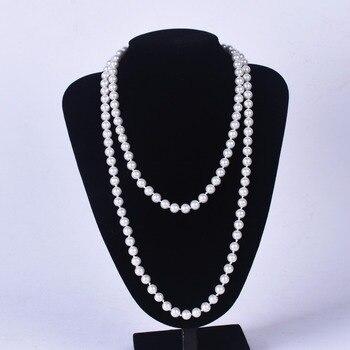 55f0cd33d8c5 Collar de perlas de 120 cm de largo
