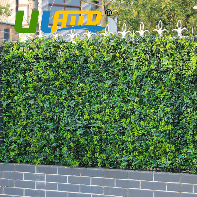 uland artificial fence bushes foliage 3 sqm high imitation plants