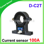 D-C2T Single hall effect current sensor 100a of DC current transducer hall current sensor