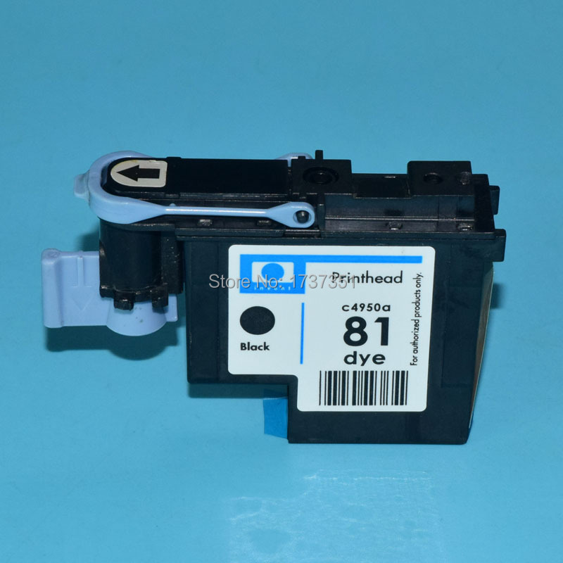 1 piece C4950A HP81 Remanufactured Printhead for hp 81 Designjet 5000 5500 print head Black color 1 set compatible print head 6 color for hp 81 for designjet 5000 5500 5500ps for hp81 printhead c4950a c4955a cartridge head