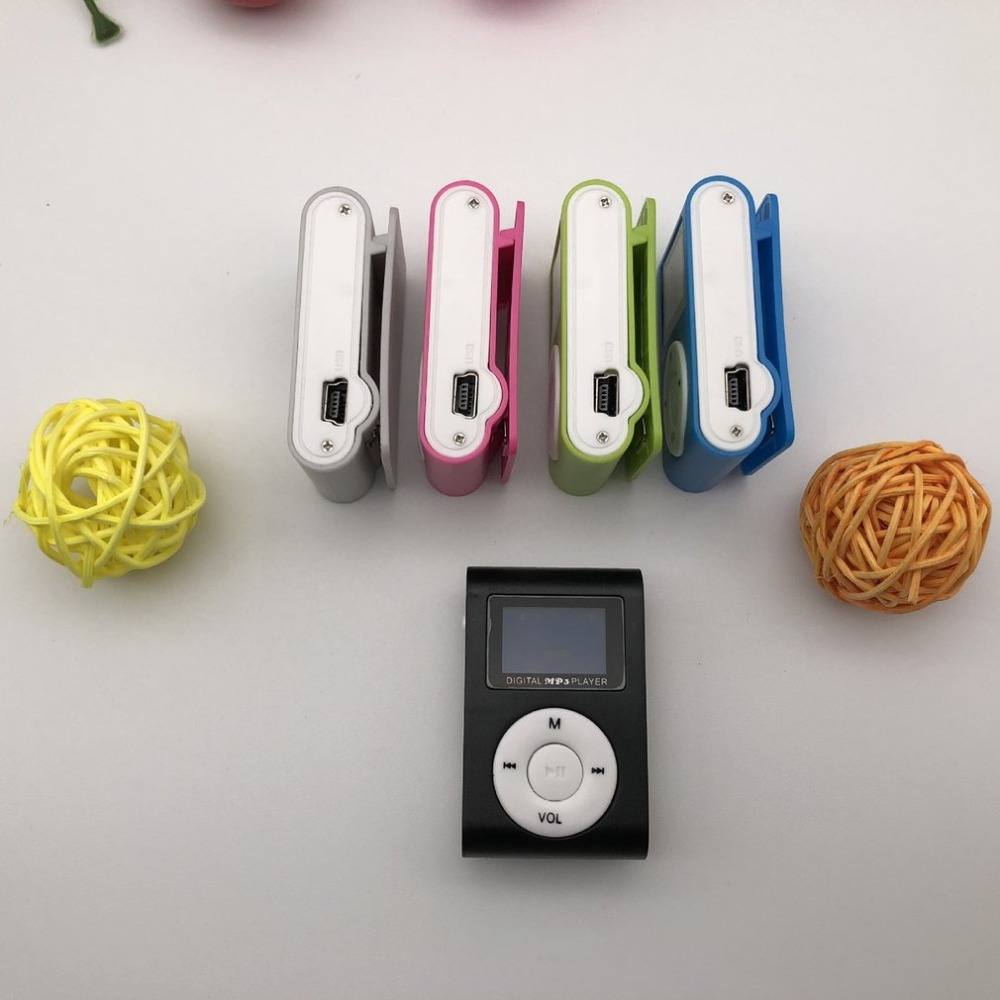 Image 5 - Small Size Portable MP3 Player Mini LCD Screen MP3 Player Music Player Support 32GB TF Card-in HiFi Players from Consumer Electronics