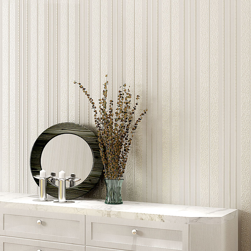 Modern Simple 3D Embossed Vertical Striped Wallpaper Living Room Bedroom Backdrop Wall Paper For Walls 3 D Non-Woven Wallpapers sea world 3d wallpaper murals for living room bedroom photo print wallpapers 3 d wall paper papier modern wall coverings