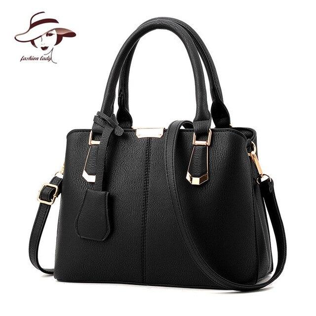 European And American Bag Luxury Handbags Women Bags Designer Fashion Cortex Shoulder Package Solid Color