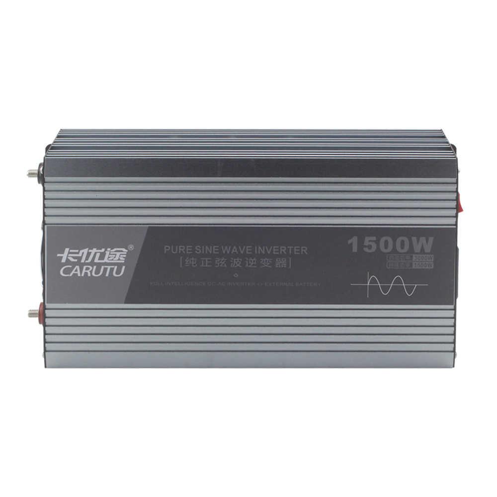Sustain 1500W peak 3000W Pure sine WAVEอินเวอร์เตอร์ 12V 220V 230Vอินเวอร์เตอร์สำหรับเครื่องปรับอากาศ 1P/กาต้มน้ำ