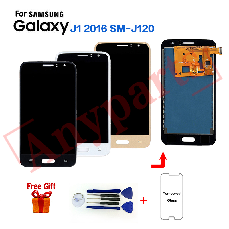 TFT For Samsung Galaxy J1 2016 SM-J120F Display lcd Screen replacement for SAMSUNG SM-J120FN J120G J120H J120M J120A lcd displayTFT For Samsung Galaxy J1 2016 SM-J120F Display lcd Screen replacement for SAMSUNG SM-J120FN J120G J120H J120M J120A lcd display