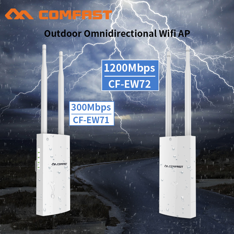23dBm High Power Outdoor Wifi Repeater 5GHz 300-1200Mbps Wireless Wifi Router AP Extender Bridge Outdoor Nano Station AP Antenna