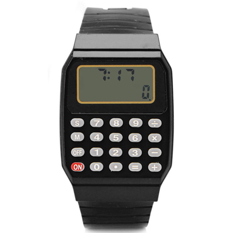 Fashion Children Watches Led Digital Watches Kids Watches Silicone Electronic Calculator Watches Montre Enfants Reloj Infantil