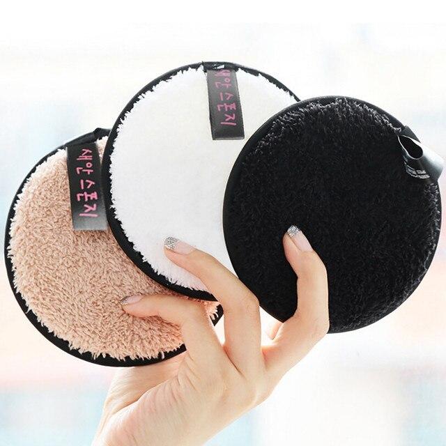Removedor de maquillaje mágico puff almohadillas de tela de microfibra removedor de toalla maquillaje de limpieza facial para mujeres promueve la salud P # dropshiop