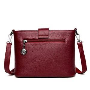 Image 4 - Роскошные клетчатые сумочки PHTESS, женские сумки, дизайнерские Брендовые женские сумки через плечо для женщин, кожаная женская сумка