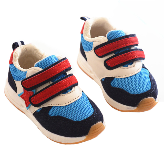 06421e58f0bd kids casual sneaker shoes 2-4 years old mesh rubber boys girls shoes  breathable children