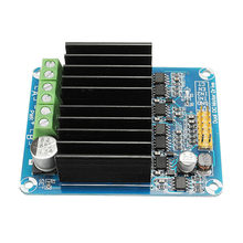 50A Dual-Channel H-bridge Motor Driver Module For-arduino Robot Chassis Servo(China)