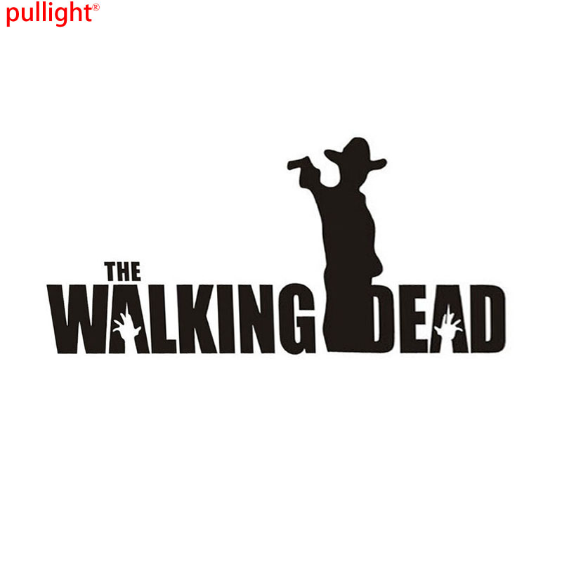 New Arrival Zombie Personality Biochemical Crisis Word WALKING DEAD Styling Body Car Sticker